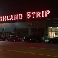 Снимок сделан в The Highland Strip пользователем Anthony C. 4/17/2016