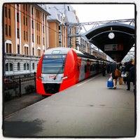 Снимок сделан в Ленинградский вокзал (ZKD) пользователем Igor G. 9/5/2013