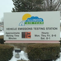 Photo Taken At Illinois Air Team Emissions Testing Station By Amy S On 3