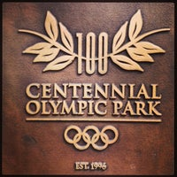 Foto tomada en Centennial Olympic Park por Alessandra B. el 4/9/2013