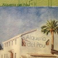 รูปภาพถ่ายที่ Alqueria del Pou โดย Nacho S. เมื่อ 1/6/2013