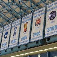Dean E  Smith Center - College Basketball Court in