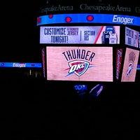 Foto tirada no(a) Chesapeake Energy Arena por Devonne D. em 4/15/2013