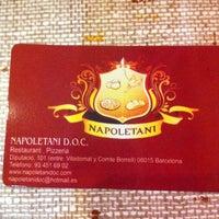 Foto tomada en Napoletani D.O.C. Restaurant & Pizzeria por Dani F. el 10/10/2012