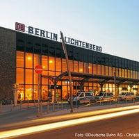 Das Foto wurde bei Bahnhof Berlin-Lichtenberg von Deutsche Bahn am 12/16/2012 aufgenommen