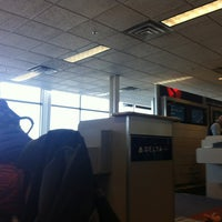 Photo taken at Gate F13 by Leah M. on 11/13/2012