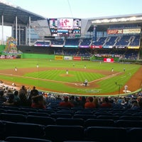 Marlins Park Baseball Stadium In Miami