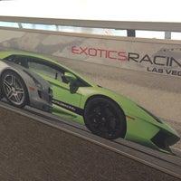 Снимок сделан в Exotics Racing пользователем Leo F. 2/24/2013