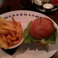 Снимок сделан в Goodman Steakhouse пользователем Shane B. 2/23/2013