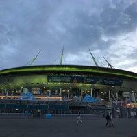 Снимок сделан в Стадион «Санкт-Петербург» пользователем Мария М. 6/16/2018