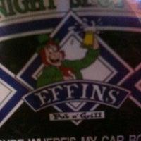 Photo prise au Effins Pub & Grill par Mike H. le7/24/2011