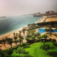 Foto tirada no(a) Rixos The Palm Dubai por Abdulrahman Als em 6/22/2013