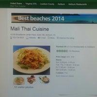 Foto tomada en Mali Thai Cuisine por Pong A. el 10/10/2014