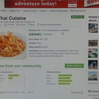 Foto tomada en Mali Thai Cuisine por Pong A. el 6/1/2013