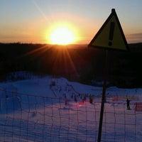 3/14/2013 tarihinde Максим С.ziyaretçi tarafından Охта Парк'de çekilen fotoğraf