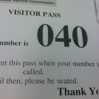 ... Photo taken at NJ Division Of Motor Vehicles by Callie F. on 3/28 ...