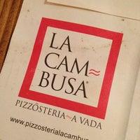 Снимок сделан в Pizzosteria La Cambusa пользователем Ronny A. 9/22/2013