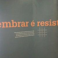 Das Foto wurde bei Memorial da Resistência de São Paulo von Higor S. am 5/21/2013 aufgenommen