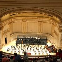 Foto scattata a Stern Auditorium / Perelman Stage at Carnegie Hall da Ernie B. il 5/5/2018