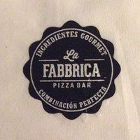Photo prise au La Fabbrica -Pizza Bar- par Humberto D. le3/25/2014