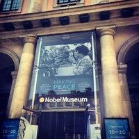 Foto tomada en Nobel Museum por Yammie P. el 7/9/2013
