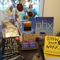 Photo taken at MADE art boutique by Eileen K. on 3/8/2014