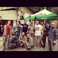 5/12/2013에 Михаил Г.님이 Пейнтбол «Гепард»에서 찍은 사진