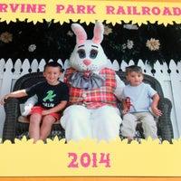 Foto scattata a Irvine Park Railroad Easter Eggstravaganza da Megan💖 il 4/17/2014