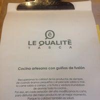 รูปภาพถ่ายที่ Le Qualitè Tasca โดย Nerea L. เมื่อ 11/29/2015