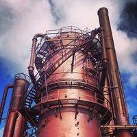 Foto tirada no(a) Gas Works Park por Will C. em 11/3/2013