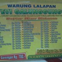 Warung Lalapan Evi Galunggung Malang Jawa Timur