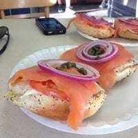 Photo taken at The Bagel Man by Betty S. on 7/28/2013
