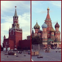 Снимок сделан в Красная площадь пользователем Michael Z. 7/28/2013