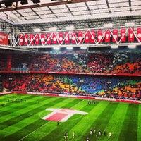 3/10/2013 tarihinde Marnix V.ziyaretçi tarafından Johan Cruijf Arena'de çekilen fotoğraf