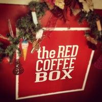 Das Foto wurde bei The Red Coffee Box von wariio .. am 12/3/2012 aufgenommen