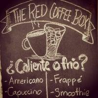 Das Foto wurde bei The Red Coffee Box von wariio .. am 1/24/2013 aufgenommen