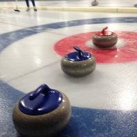 Снимок сделан в Московский кёрлинг-клуб / Moscow Curling Club пользователем Julia C. 1/18/2013