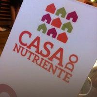 Foto tirada no(a) Casa do Nutriente por Abel B. em 1/28/2014