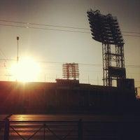 Foto tirada no(a) Стадион «Петровский» por Юля em 7/6/2013