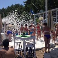6/24/2013 tarihinde Berk K.ziyaretçi tarafından Nirvana Beach Club'de çekilen fotoğraf