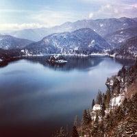 Foto scattata a Blejski Grad | Bled Castle da Julia T. il 3/28/2013