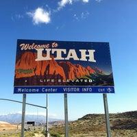 Photo taken at Arizona-Utah State Line by Tran M. on 10/21/2012