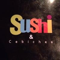 Foto tomada en Sushi & Cebiches por Denis F. el 11/3/2013