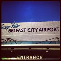 รูปภาพถ่ายที่ George Best Belfast City Airport (BHD) โดย Oleg Z. เมื่อ 1/11/2013
