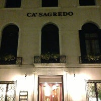 3/4/2013에 Nicolas B.님이 Ca' Sagredo Hotel Venice에서 찍은 사진
