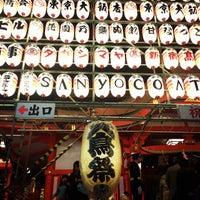 Foto diambil di Hanazono Shrine oleh Kenta N. pada 11/20/2012