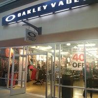 3404bb95d5 ... Photo taken at Oakley Vault by Kazu N. on 11 29 2014 ...