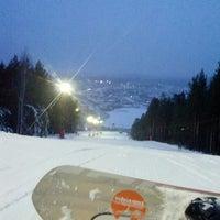 11/27/2013 tarihinde Katya H.ziyaretçi tarafından ГЛК Гора Пильная'de çekilen fotoğraf