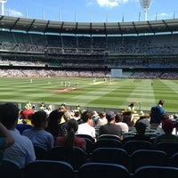 Das Foto wurde bei Melbourne Cricket Ground (MCG) von Paul G. am 12/25/2012 aufgenommen