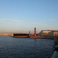 Снимок сделан в Стрелка Васильевского острова пользователем Eka G. 6/24/2013